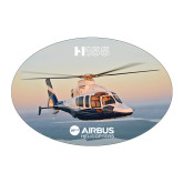 Large Decal-H155 Over Shoreline, 8.5 inches wide