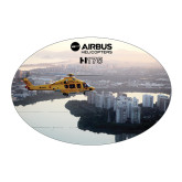 Large Decal-H175 Over City Shore, 8.5 inches wide