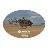 Large Decal-UH72A Over Dessert, 8.5 inches wide
