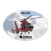 Large Decal-MH-65 In Clouds, 8.5 inches wide