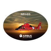 Large Decal-MH-65 Sunset, 8.5 inches wide