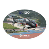 Large Decal-EC120 Over Airport, 12 inches wide