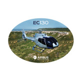 Small Decal-EC130 In Front of Water Inlet, 6 inches wide