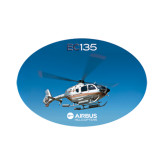 Small Decal-EC135 In Blue Sky, 6 inches wide