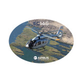 Small Decal-EC145 Over River, 6 inches wide