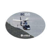 Small Decal-EC155 Over Mountain/Water, 6 inches wide