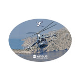 Small Decal-X3 Banking Over Water, 6 inches wide