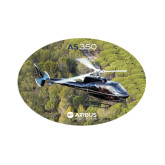Small Decal-AS350 Over Marsh, 6 inches wide