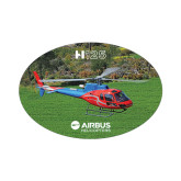Small Decal-H125 Over Grass, 5 inches wide