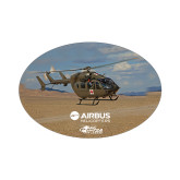 Small Decal-UH72A Over Dessert, 5 inches wide