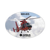 Small Decal-MH-65 In Clouds, 5 inches wide