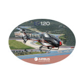 Small Decal-EC120 Over Airport, 6 inches wide