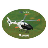 Extra Large Decal-EC135 Over Green Field, 18 inches wide