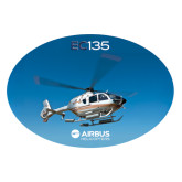 Extra Large Decal-EC135 In Blue Sky, 18 inches wide