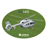 Extra Large Decal-EC145 Over Green Field, 18 inches wide
