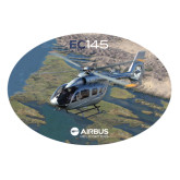 Extra Large Decal-EC145 Over River, 18 inches wide