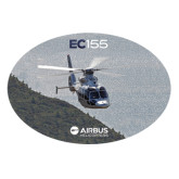 Extra Large Decal-EC155 Over Mountain/Water, 18 inches wide