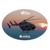 Extra Large Decal-UH72A Lakota Over Sunset, 18 inches wide