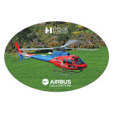 Extra Large Decal-H125 Over Grass, 12 inches wide