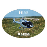 Extra Large Decal-H130 In Front of Mountain, 12 inches wide
