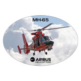 Extra Large Decal-MH-65 In Clouds, 12 inches wide