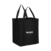 Non Woven Black Grocery Tote-Airbus Helicopters