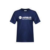 Youth Navy T Shirt-Airbus Helicopters