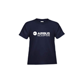 Toddler Navy T Shirt-Airbus Helicopters