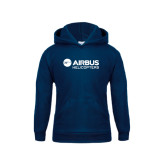 Youth Navy Fleece Hood-Airbus Helicopters