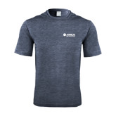 Performance Navy Heather Contender Tee-Airbus Helicopters