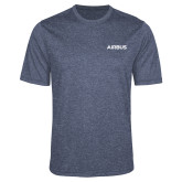Performance Navy Heather Contender Tee-Airbus