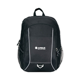Atlas Black Computer Backpack-Airbus Helicopters