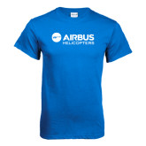 Royal Blue T Shirt-Airbus Helicopters