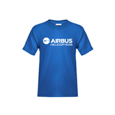 Youth Royal Blue T Shirt-Airbus Helicopters