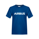 Youth Royal T Shirt-Airbus