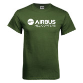 Military Green T Shirt-Airbus Helicopters