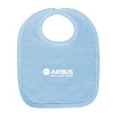 Light Blue Baby Bib-Airbus Helicopters
