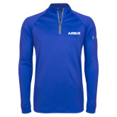 Under Armour Royal Tech 1/4 Zip Performance Shirt-Airbus