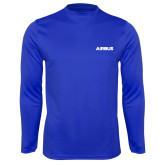 Syntrel Performance Royal Longsleeve Shirt-Airbus