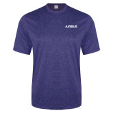 Performance Royal Heather Contender Tee-Airbus