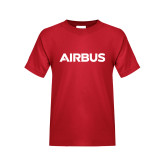 Youth Red T Shirt-Airbus