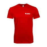 Next Level SoftStyle Red T Shirt-Airbus Helicopters