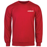 Red Fleece Crew-Airbus