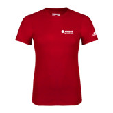 Adidas Red Logo T Shirt-Airbus Helicopters