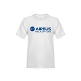 Youth White T Shirt-Airbus Helicopters