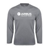 Syntrel Performance Steel Longsleeve Shirt-Airbus Helicopters