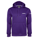 Under Armour Purple Performance Sweats Team Hoodie-Airbus