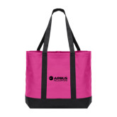 Tropical Pink/Dark Charcoal Day Tote-Airbus Helicopters