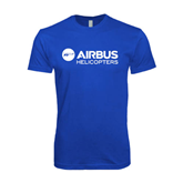 Next Level SoftStyle Royal T Shirt-Airbus Helicopters