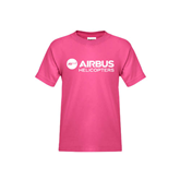 Youth Fuchsia T-Shirt-Airbus Helicopters